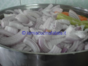 patate blu tagliatelle e genovese 037