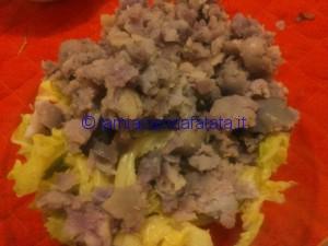 verza e patate blu sformato 009