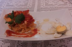 pasta al forno e migliaccio di riso carnevale 2014 014