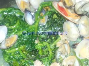 spaghetti con broccoli e frutti di mare 019