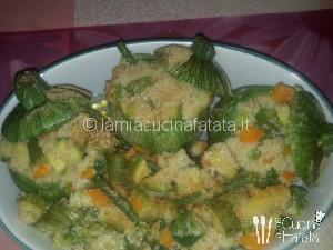 zucchine con cous-cous 005
