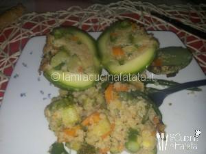 zucchine con cous-cous 012